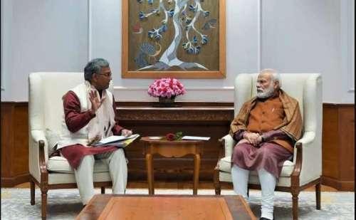 सीएम त्रिवेंद्र सिंह रावत ने प्रधानमंत्री मोदी से की मुलाकात, कई अहम मुद्दों पर हुई चर्चा