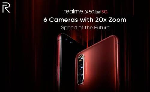 देश का पहला 5G स्मार्टफोन Realme X50 Pro दमदार प्रोसेसर के साथ हुआ लॉन्च
