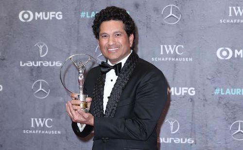 सचिन तेंदुलकर ने जीता लारेस 20 स्पोर्टिंग मोमेंट 2000-2020 का पुरस्कार