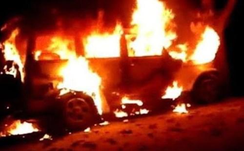 पंजाब के संगरूर में अचानक स्कूली वैन में लगी आग,हादसे में 4 मासूमों की गई जान
