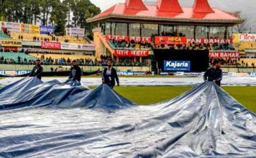धर्मशाला: बारिश के चलते रद्द हुआ भारत-दक्षिण अफ्रीका सीरीज का पहला मैच