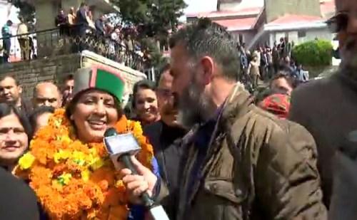 'खबरें अभी तक' ने राज्यसभा के लिए भाजपा उम्मीदवार इंदु गोस्वामी से की खास बातचीत