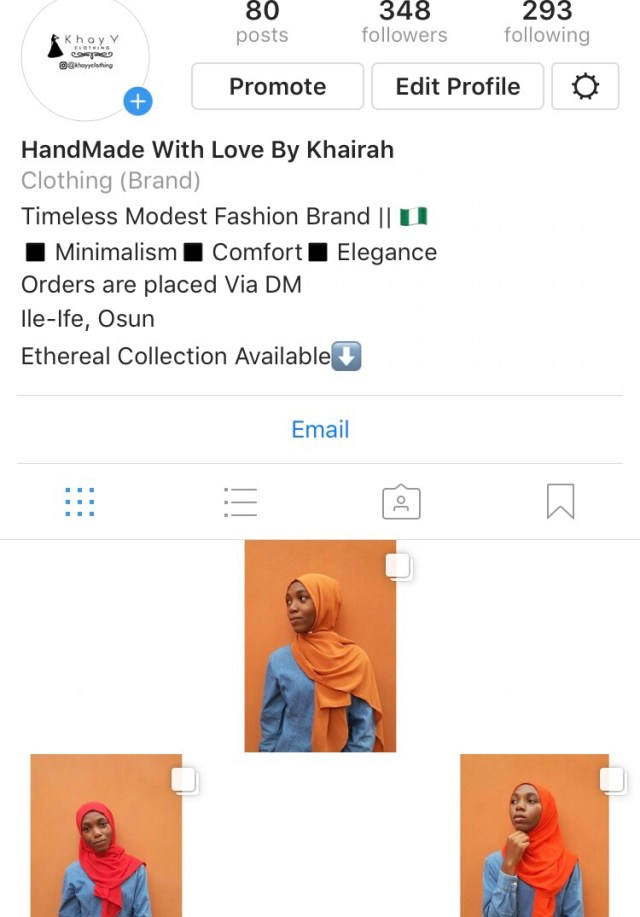 Brand Page: @khayyclothing on Instagram