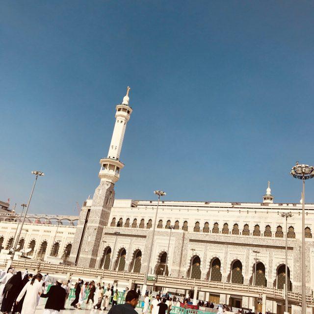 A view of the mosque, Al Masjid al-haram, mecca makkah, saudi arabia