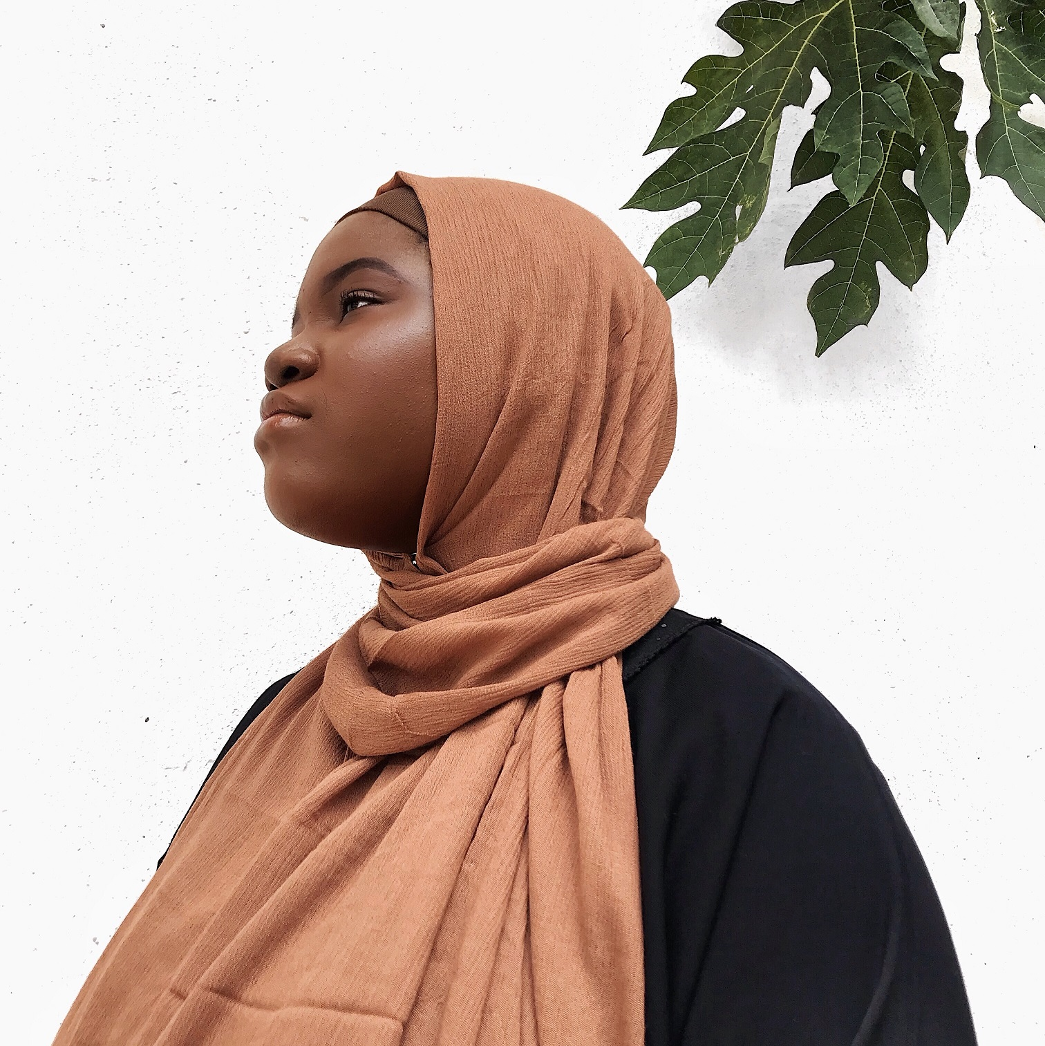 best-scarf-fabrics-in-nigeria-khayy-honey-brown-premium-rayon-habiba-dasilva-skin-2-collection