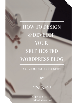 khairahscorner ebook design develop wordpress blog website self hosted