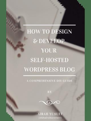 khairahscorner ebook design develop wordpress blog website self hosted