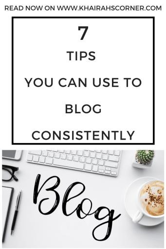 how to write publish more blogposts blog consistently blogging resources blogpost khairahscorner