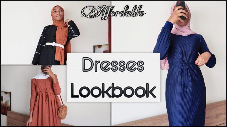 Dresses Try-on Haul | 2021 Modest fashion Inspo ft. Modanisa + Aliexpress