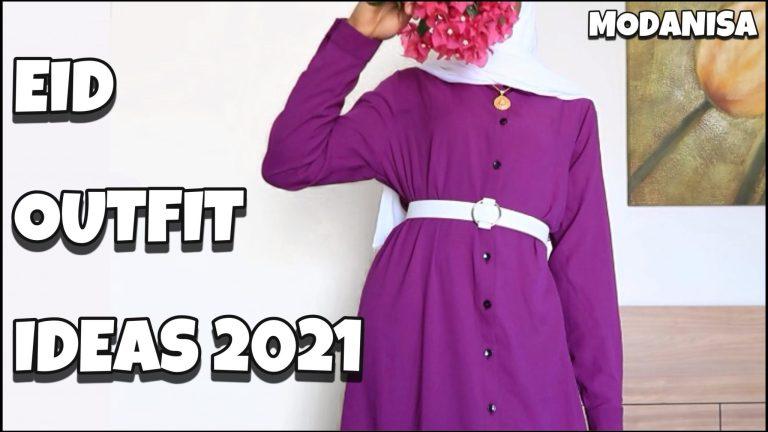 EID with Modanisa – 10 Eid outfit ideas 2021 [A modest Eid Lookbook]