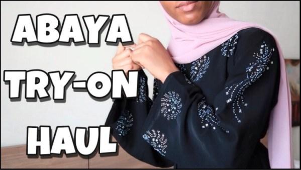 abaya try on haul ramadan abaya lookbook modest outfit ideas