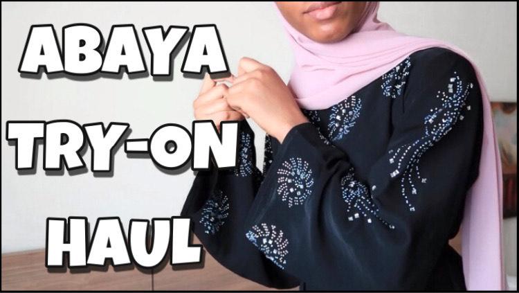 Abaya try-on haul 2021 | A Ramadan lookbook ft. Modanisa, Aliexpress outfit inspo