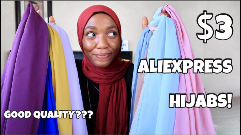 AliExpress $3 Hijabs + Accessories Haul (with FREE shipping!)