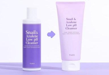 tiam-snail-azulene-low-ph-cleanser-2021-korean-skincare-khairahscorner-renewal