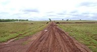 The mud road ahead