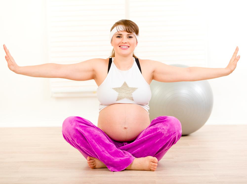 pregnant women do yoga Can