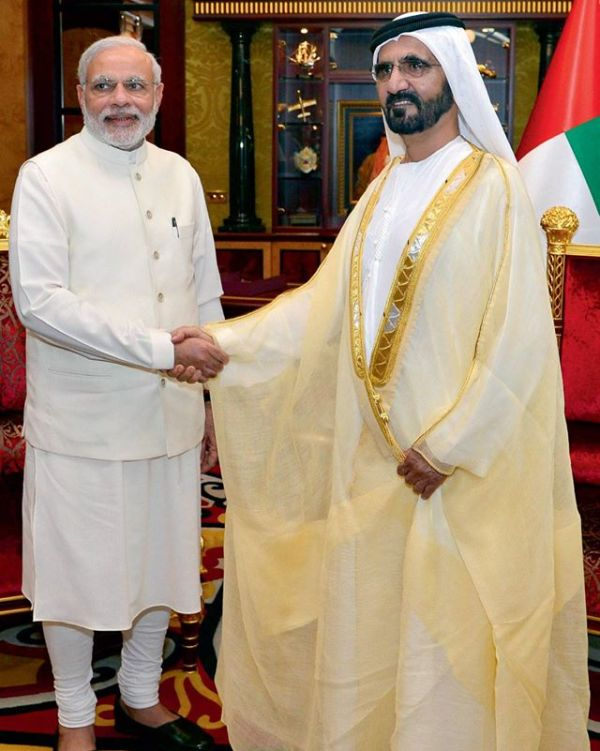 India, UAE join hands to fight against Terror