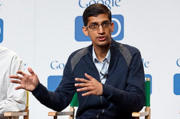 Pichai in Google