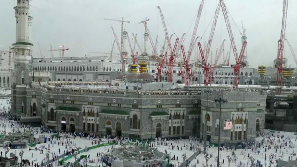 Crane Collapse at Haram Sharif Makkah