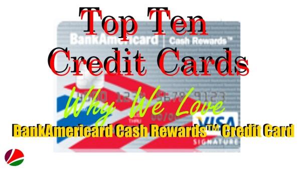 Top Ten credit cards