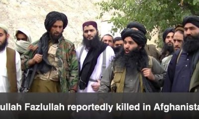 Tehrik-e-Taliban chief Fazlullah 'killed' in drone strike