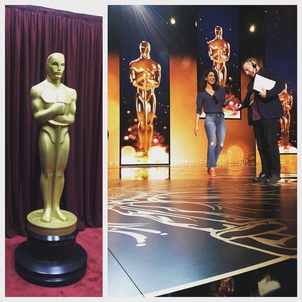 Priyanka Chopra is rehearsing for the Oscars