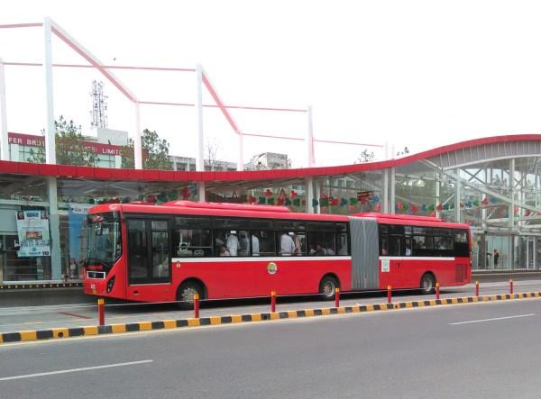 Metro Bus Islamabad