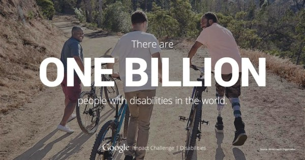 Google Impact Challenge for Disabilities