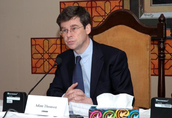 British High Commissioner to Pakistan Adam Thomson