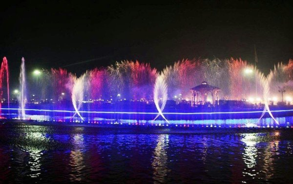 Night View of Greater Iqbal Park
