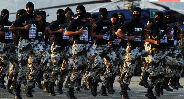 Saudi Special Forces contingents