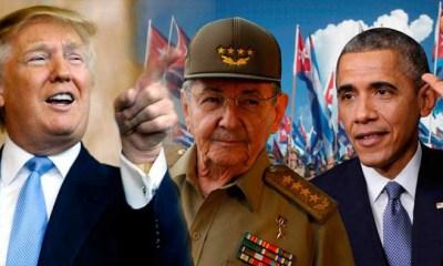 Trump-Obama-Cuba