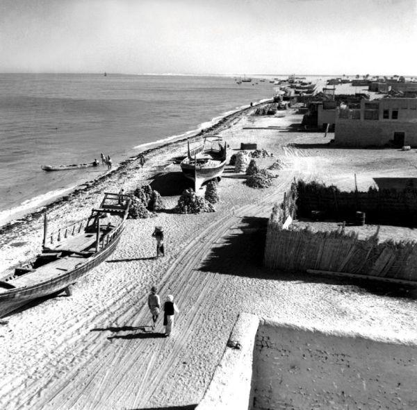 Abu Dhabi in 1950s