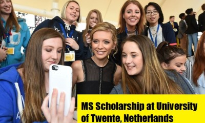 MS Scholarship at University of Twente, Netherlands