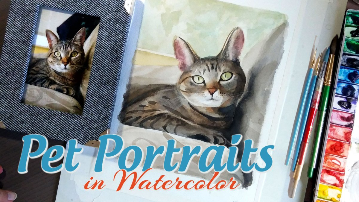 Custom Pet Portrait, Custom Cat Portrait Painting, Custom Dog Portrait Painting, Austin Pet Portrait