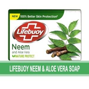 lifebuoy neem & aloe vera soap