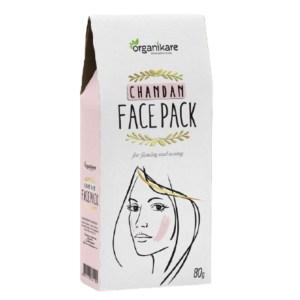 organikare chandan face pack 80gm