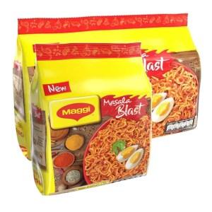 maggi masala blast noodles