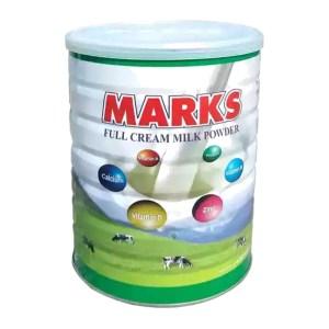 marks milk powder tin
