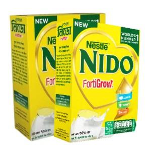 nestle nido fortigrow milk bib (5+ years)