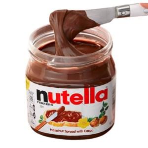 nutella hazelnut spread with cocoa