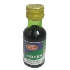 one super green food color