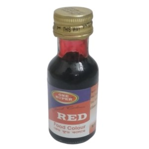 one super red food color