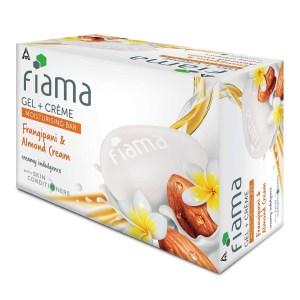 fiama gel + cream moisturizing bar