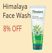 himalaya face wash discount