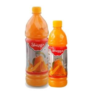 shezan mango juice bottle