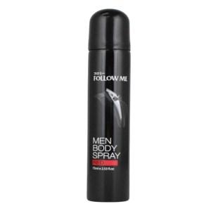 follow me men body spray red 75ml