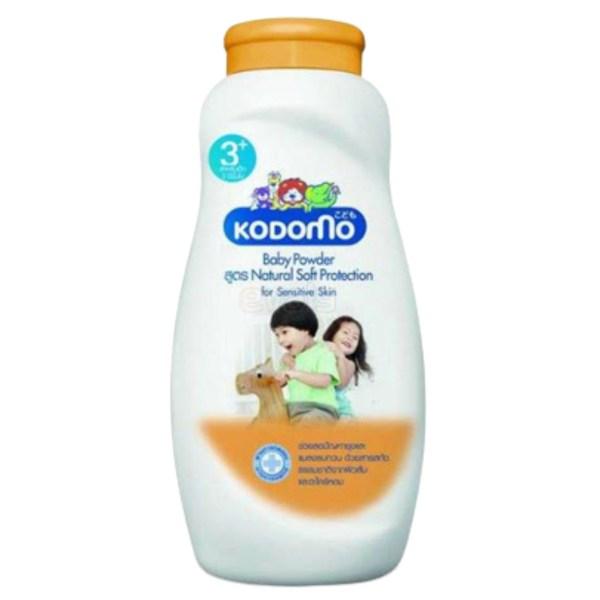 kodomo baby powder (3+) natural soft protection 200ml