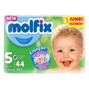 Molfix Baby Diaper Belt 5 Junior (11-18kg) 44 pcs