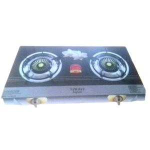nikko auto gas stove double burner nk332